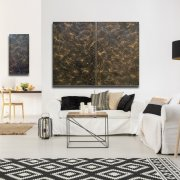 Lotus Panel (80x120cm) BLA Black