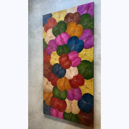 Lotus Wall Panel multicolor 120 x 240