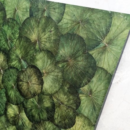Lotuspanel Green 120x120 cm