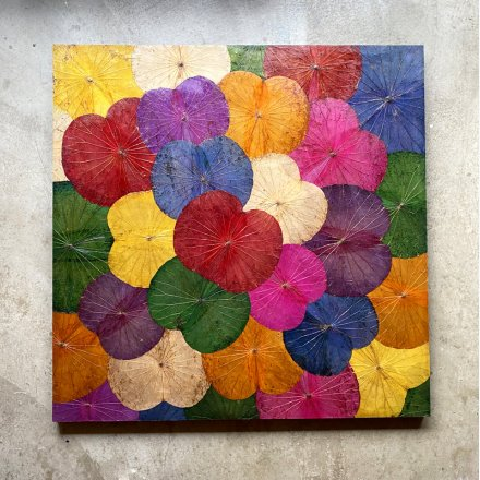 Lotuspanel multicolor 120x120