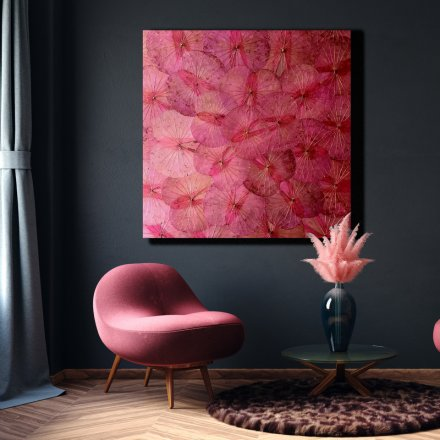 Panel Light Pink Lotus 120x120
