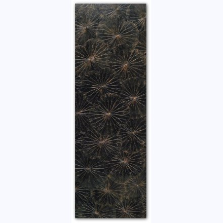 Lotus Display modern black 60x180cm