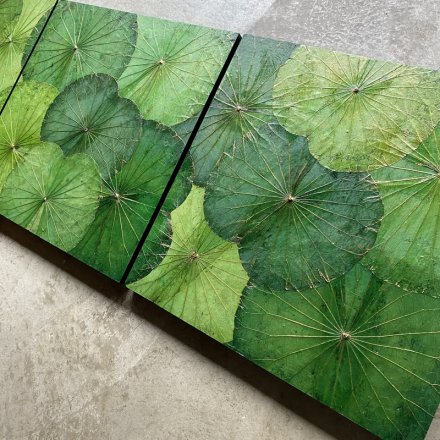 Lotus Paneel (60x60) Greenmix