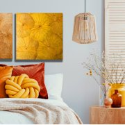 Lotusdisplay (60x60) YE Yellow