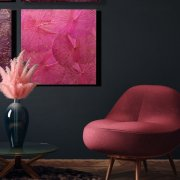 Lotusdisplay (60x60) PP Pink