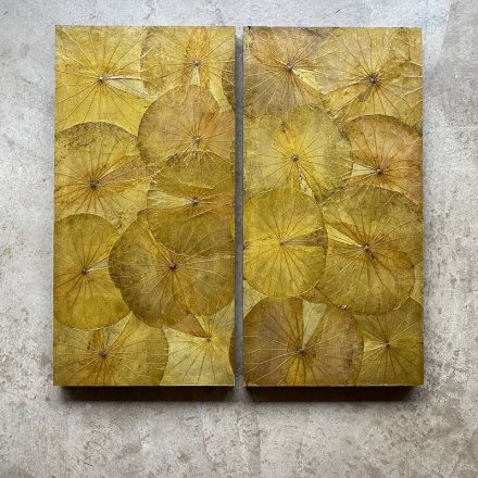 Panel Lotus Yellow 40x80cm