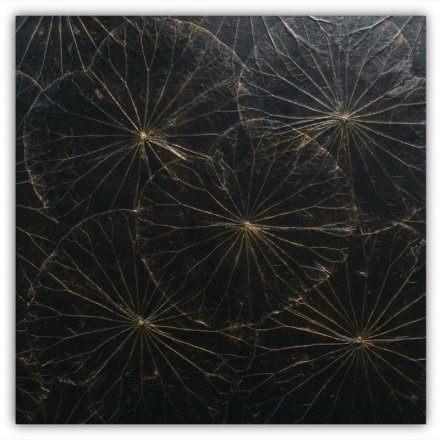 Blackpanel Lotus 60x60 cm
