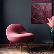 Lotusdisplay Orange 60x60 cm