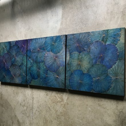 Lotus Panel (60x60) BL1 Blue