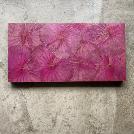 Lotuspanel Pink 40x80