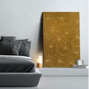 Lotus Panel (80x120cm) GO Gold handgilded