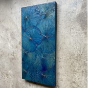 Lotuspanel Blue 40x80cm