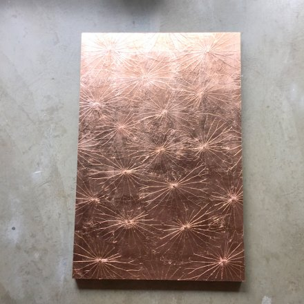 Lotus Paneel (80x120) Copper