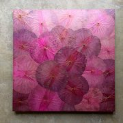 Lotus Art (100x100) Lila Pink