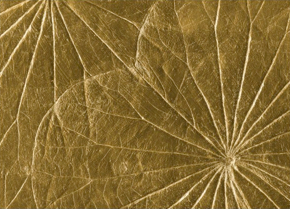 goldenes wandbild von shermans