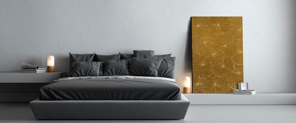 Goldene Wandbilder von SHERMANS