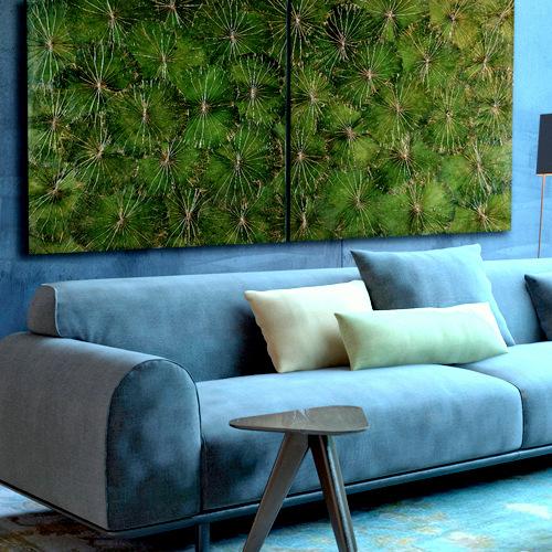 wall art in verschiedenen Farben und formaten